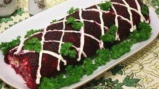Салат селедь под шубой  Новый рецепт сельди под шубой(На праздник всегда хочется попробовать что-то вкусненькое. Очень вкусные салаты можно приготовить не тольк..., 2013-12-14T10:33:20.000Z)