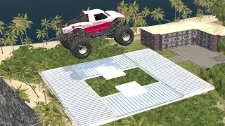 Beamng drive - Impossible Car Stunts 2