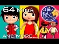 Here We Go Looby Loo | Plus Lots More Nursery Rhymes | 64 Minutes Compilation From Littlebabybum! video
