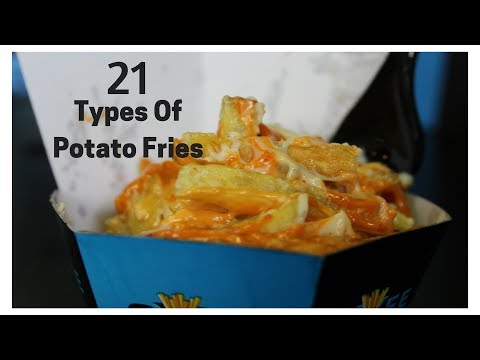 21 Types of Fries @ Cafe 2.0