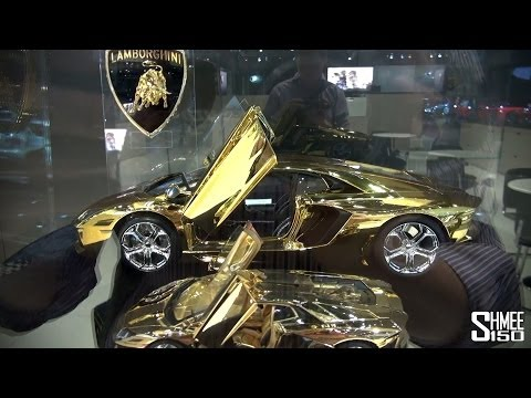 $350,000 1:18 Lamborghini Aventador Model - As much as the real thing!