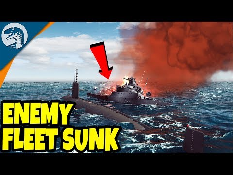 SINKING ENEMY FLEET & SUBMARINE WARFARE SIMULATOR | Cold Waters: American 84' Campaign Gameplay