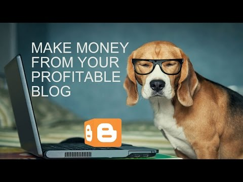 Make Money From Creating Your Profitable Blog With Google Adsence |  Step By Step Tutorial