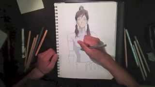 The Legend of Korra: Speed DRAWING