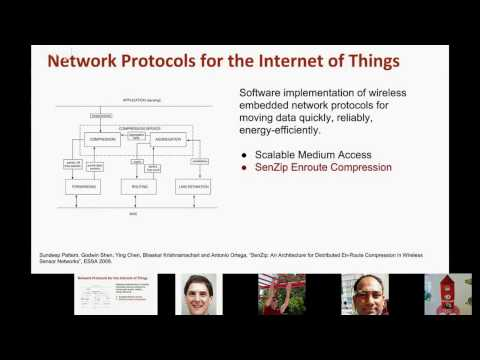 Architectures and Algorithms for the future Internet of Things