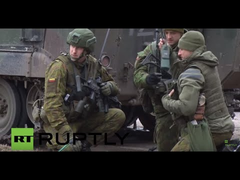 Lithuania: Army carries out large-scale military exercise in Klaipeda