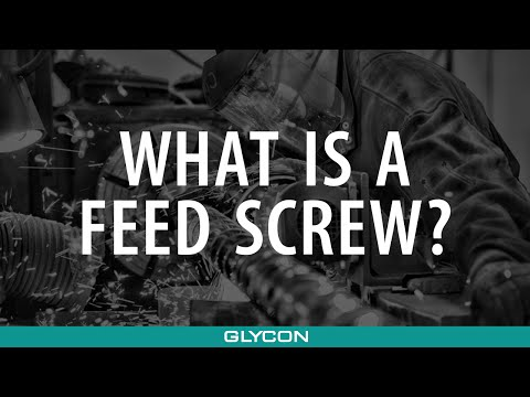 What Is a Feed Screw?   Glycon Corp. Michigan USA - Melt Stream Components for the Plastics Industry