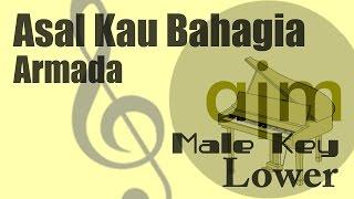 Video Armada - Asal Kau Bahagia (Male Key Lower) Karaoke Version download MP3, 3GP, MP4, WEBM, AVI, FLV Mei 2018