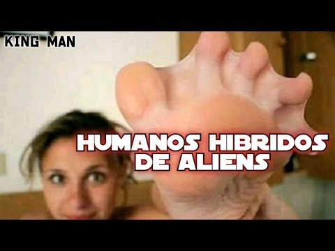 Humanos hibridos modificados geneticamente por extraterrestres