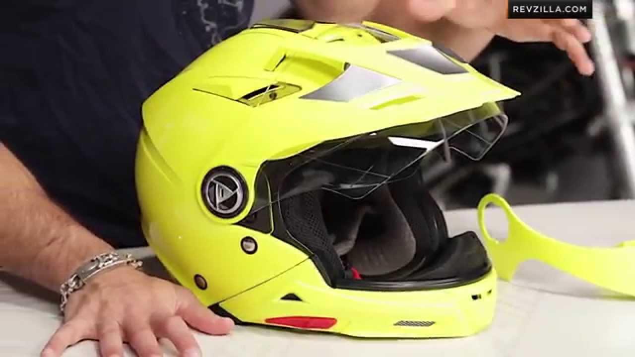 AFX FX-55 Helmet Review at RevZilla.com - YouTube 654df3ec2c83f