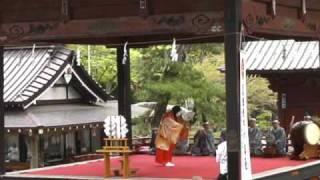 北口本宮冨士浅間神社・冨士太々神楽 「神巫の舞」