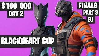 Fortnite Blackheart Cup Final PART 3 Highlights - EU Day 2 [Fortnite Tournament 2019]
