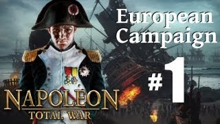Napoleon Total War - European Campaign Part 1: Prepare for War!