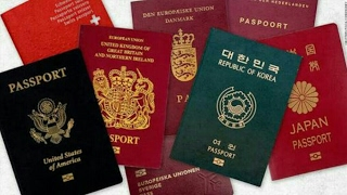 There are only four Passport colours in the World and This is the reason Why.....