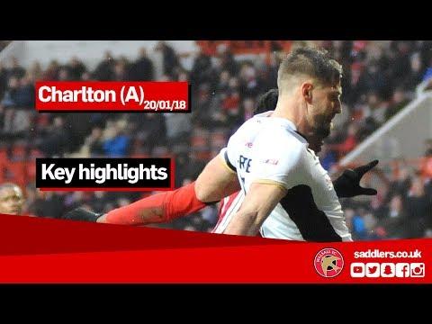 Charlton v Walsall