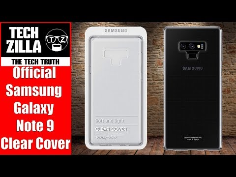 Official Samsung Galaxy Note 9 Silicone Clear Cover