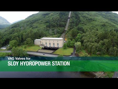 VAG Valves for Sloy Hydropower Station DE / EN