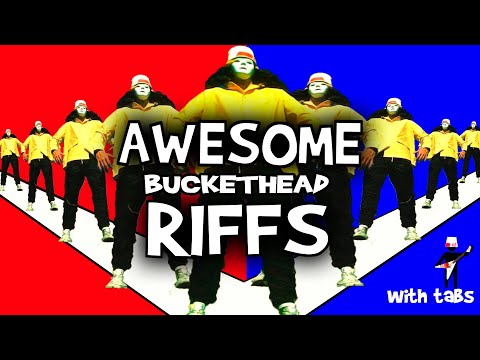 30 Awesome Guitar Riffs (with tabs) by Buckethead (Non Pike Edition)