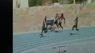 Jamad Smith anchors southern miss 4 x100 relay 2017 conference usa