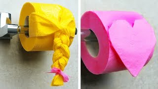 8 FUN AND CREATIVE TOILET PAPER IDEAS