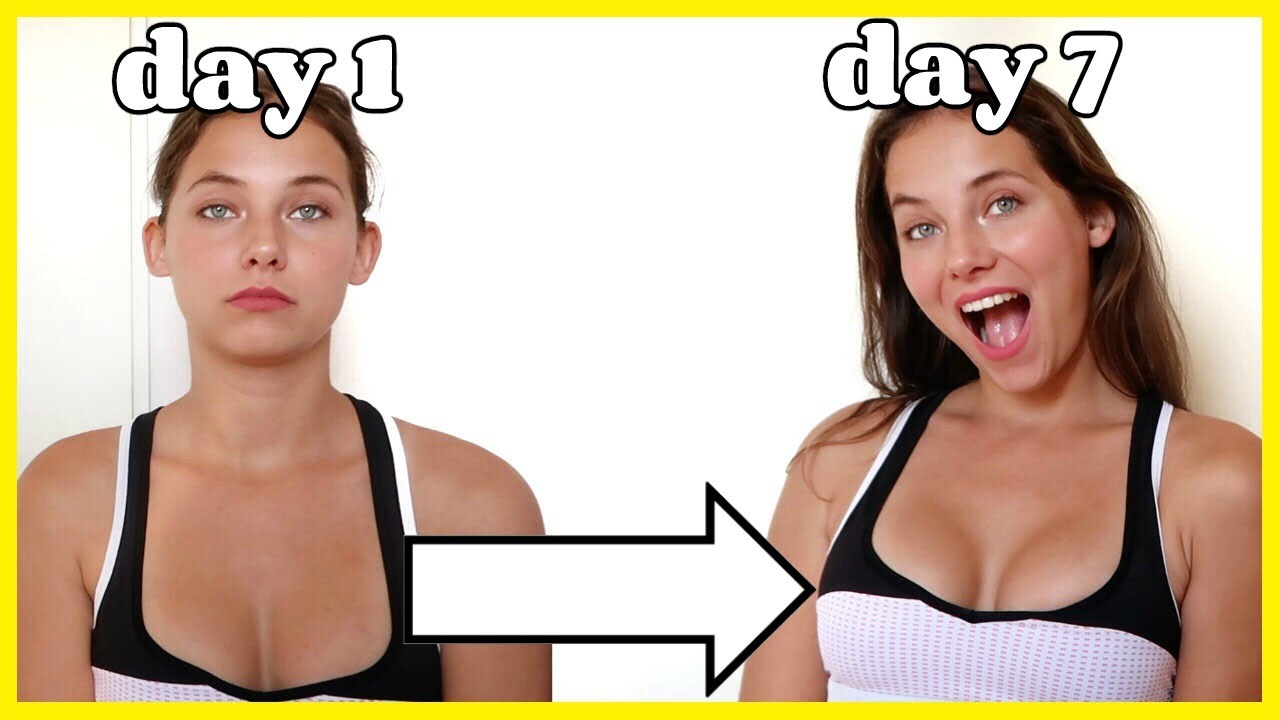 HOW TO LIFT YOUR BUST IN ONE WEEK no surgery breast lift