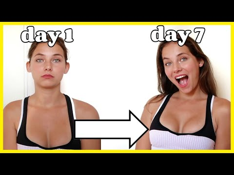 HOW TO LIFT YOUR BUST IN ONE WEEK *no surgery breast lift*
