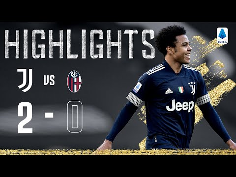 Juventus 2-0 Bologna | First Goal For Arthur As McKennie Nets! | Serie A Highlights
