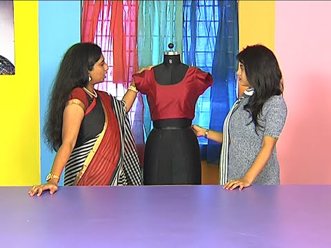 How to Draft a Women's Blouse   Pink Petal Institute of Fashion Design   Hello Ladies