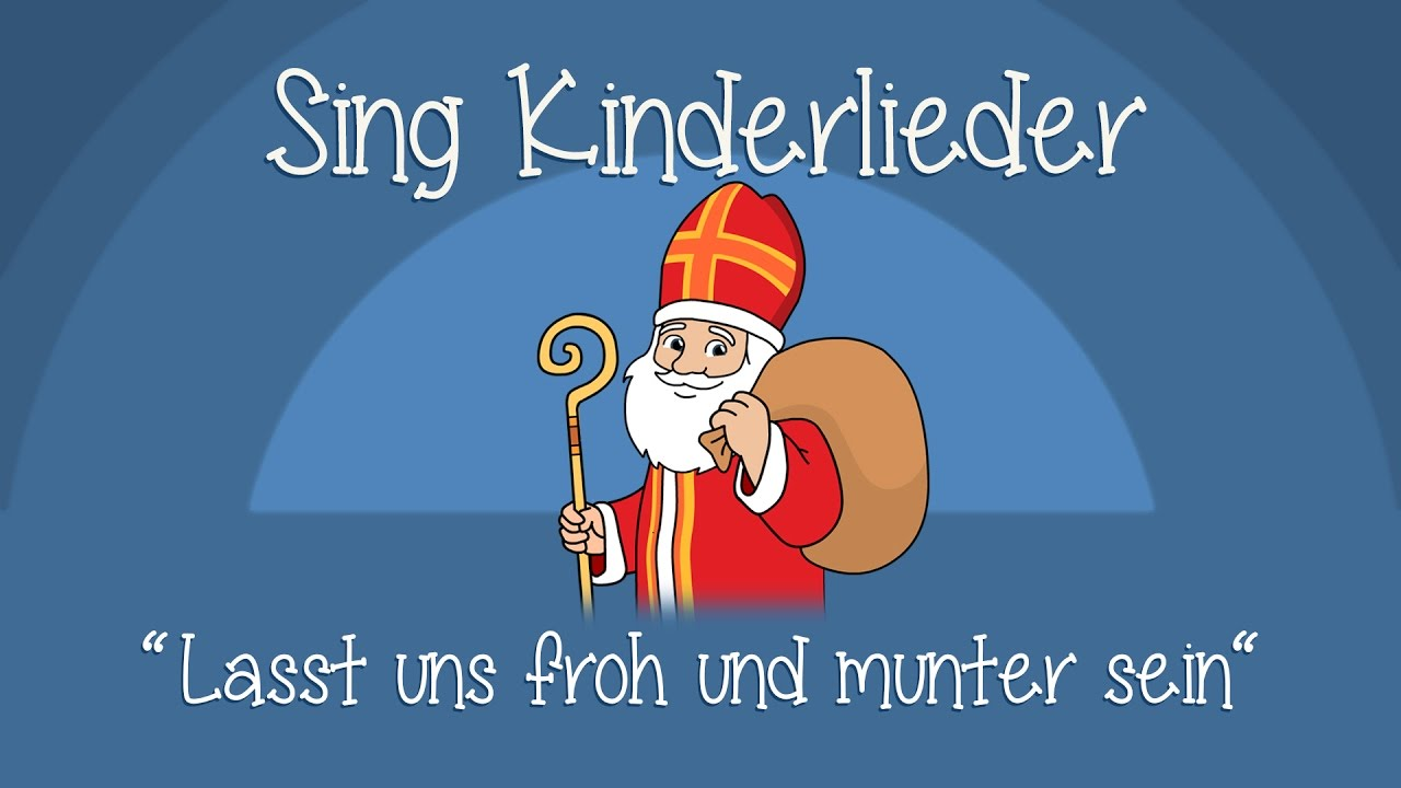 Lustige Weihnachtslieder Texte.Lasst Uns Froh Und Munter Sein Weihnachtslieder Zum Mitsingen Sing Kinderlieder
