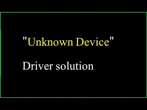 Unknown Device Driver Solution   How To Find Drivers For Unknown Devices