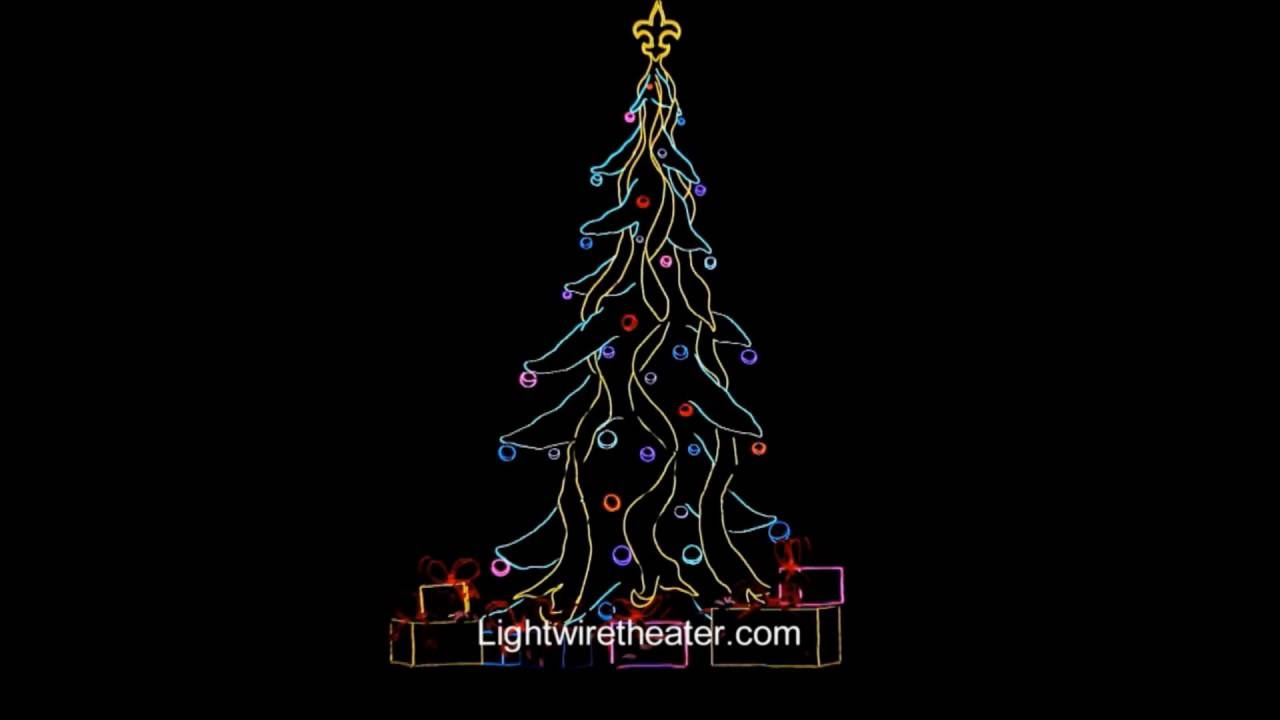 Lightwire Theater: A Very Electric Christmas - YouTube