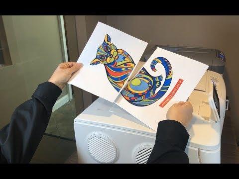 Dye Sublimation Tiling Technique Instructional Video