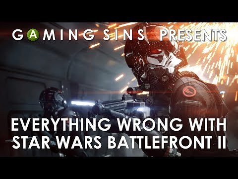 Everything Wrong With Star Wars Battlefront 2 In 9 Minutes Or Less | GamingSins