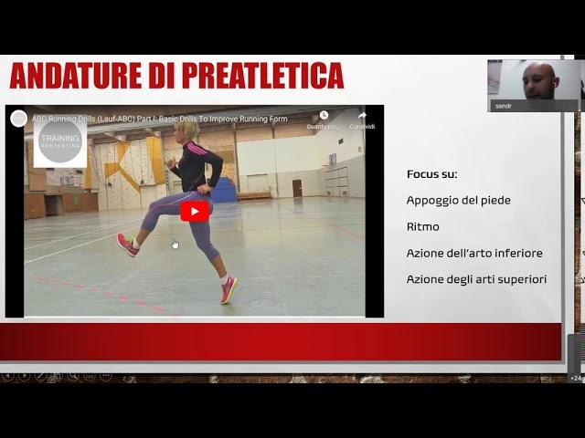 Teoria dell'allenamento - Parte II. A cura del Prof. Sandro Bartolomei
