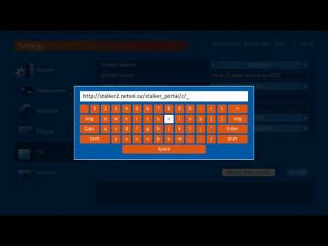 How to setup TVIP Set-top box to run Stalker Middleware