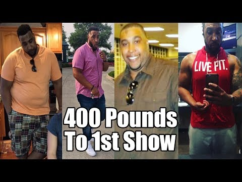 Transformation: From 400 Pound to Prepping for His 1st Show
