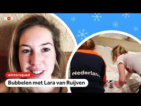 Dai Dai Ntab spreekt Russisch, Lara van Ruijven doet was in bubbelbad   Wintersquad #2   NOS Sport