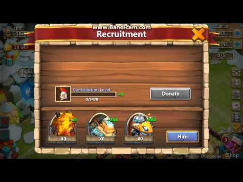 Quests Heroes Donate Castle Clash Adventures Game