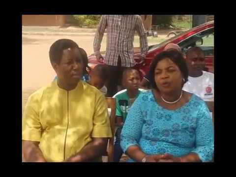 Prophet & Prophetess visit to Divine wounds  Orphanage Home,Kubwa.Abuja.FCT.Nigeria.