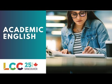 Academic English in Vancouver, Canada