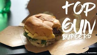 VLOG #35 Top Gun Burgers