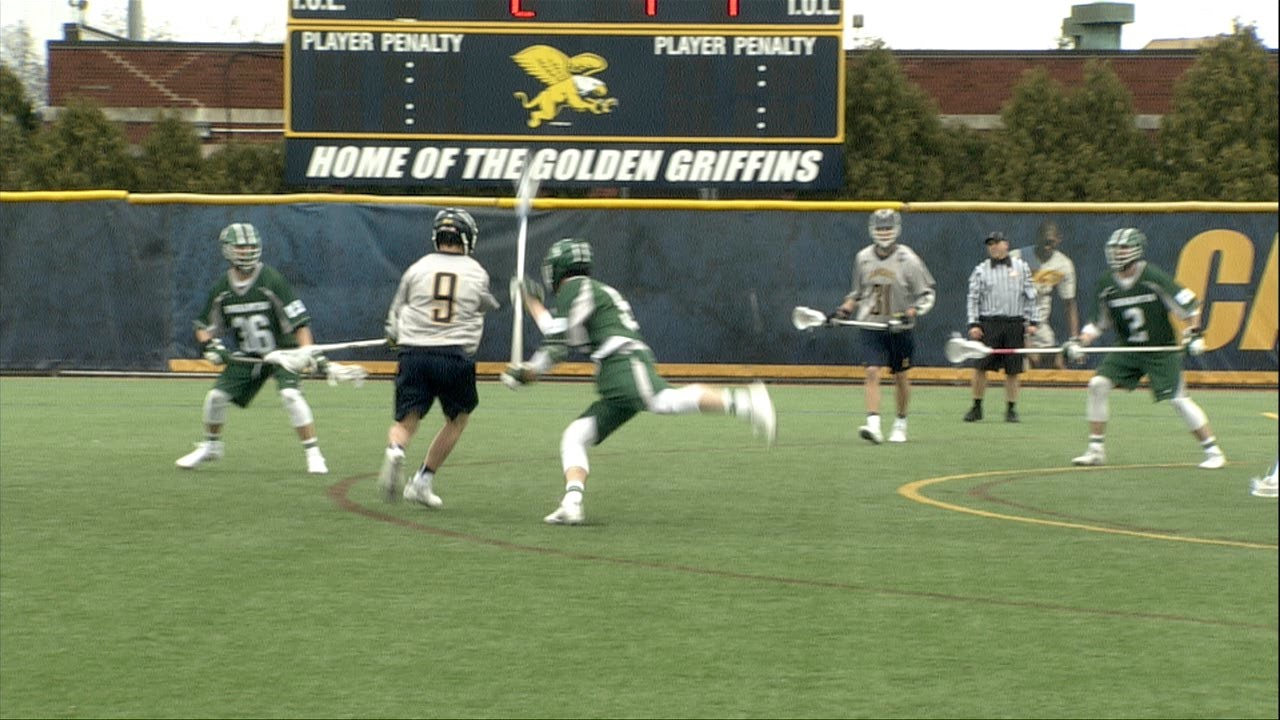 Men's Lacrosse falls to Binghamton 11-7 - YouTube