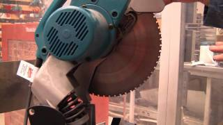Makita Lc1230 Tct Metal Cutting Chop Saw - Great Demo And Review