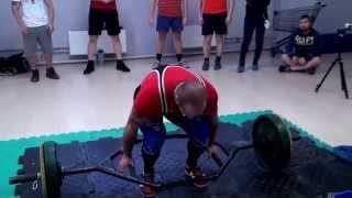 Становая тяга на количество раз, 150 кг, победа, ДОМКРАТЬ 2014