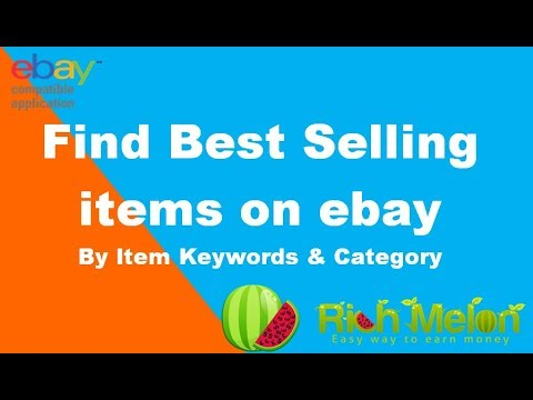 Find Top Selling Products On Ebay Youtube