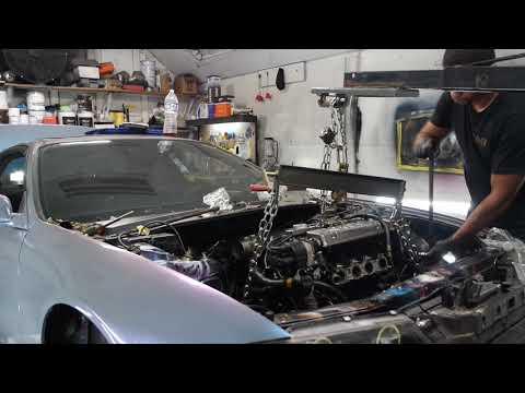 Turbo Honda prelude F20B motor swap pt2