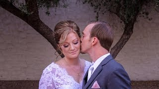 Emotional and heartfelt vows at Tre Bella in Mesa AZ - Christine + Tyler Wedding Video