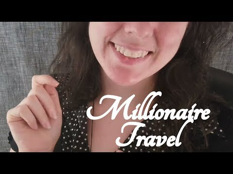 ASMR Millionaire Travel Agent Role Play  ☀365 Days of ASMR☀