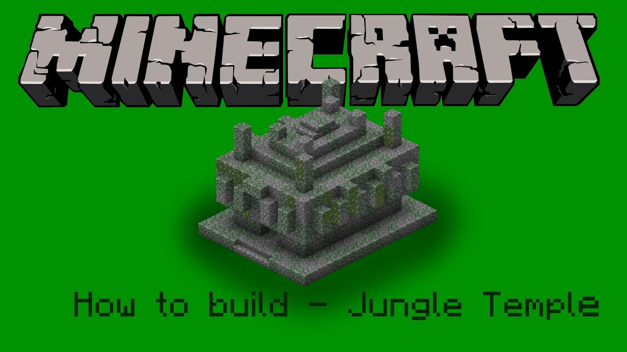 How to build jungle temple youtube for How do you make a blueprint