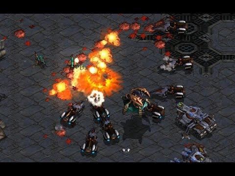 Download Flash (T) v Larva (Z) on Circuit Breakers - StarCraft Brood War REMASTERED 2019